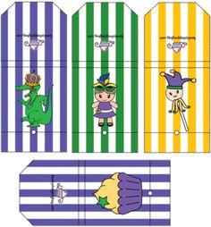 Free Printable Mardi Gras Covers for Lollipops from familyshoppingbag.com
