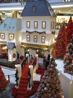 Huge Lifesize Christmas Village
