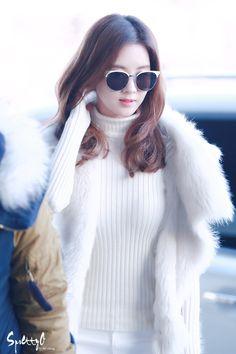 Seo Pretty :: 151217 Gimpo Airport 서현 6p