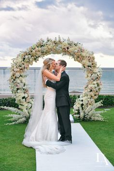 just married kiss at Extravagant Wedding at The Breakers Palm Beach by Domino Arts Photography Breakers Palm Beach, The Breakers, Palm Beach Wedding, Dream Wedding, Wedding Stuff, Wedding Ideas, Bride And Groom Pictures, Wedding Pictures, Floral Wedding