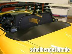 """Fiat Barchetta mit einer """"Strukturcarbonfolienpassage"""" powered by scheibendesign.de"""