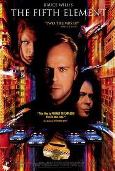 El quinto elemento (The Fifth Element); acción, ciencia ficción, thriller (4/5)