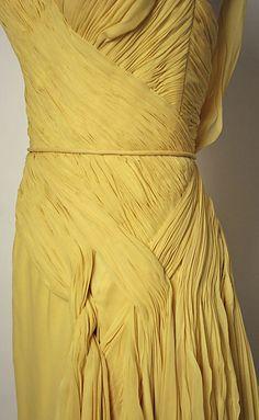 Dress, Evening  Jean Dessès  (French, born Eqypt, 1904–1970)  Date: