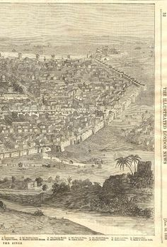"""""""City of Delhi before the siege"""" India Map, India Travel, Delhi City, Colonial India, Rare Photos, Vintage Photographs, Indian Architecture, Cities, Travel Illustration"""