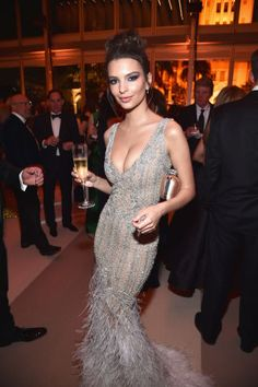 All of the best looks from 2017 Oscars after parties: Emily Ratajkowski