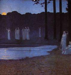 Alphonse Osbert - Songs of the Night 1896