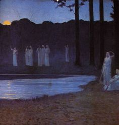 Alphonse Osbert - Songs of the Night 1896