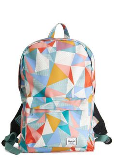 Prism and Blues Backpack. Pack this colorful backpack from Herschel Supply Co. #multi #modcloth