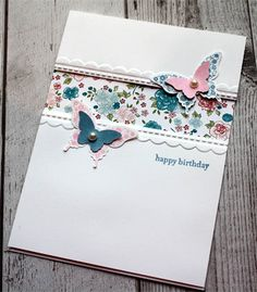 Shabby Chic Birthday Card - Enchanted Creations By Narelle - $4 plus post