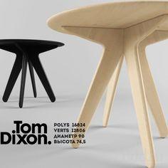 """PROFI"" Slab Round Table Tom Dixon 3dsMax 2012 + fbx (Vray) : Столы : Файлы : 3D модели, уроки, текстуры, 3d max, Vray"