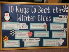 Winter RA Bulletin Board