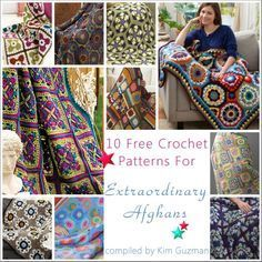 Link Blast: 10 Free Crochet Patterns for Extraordinary Afghans