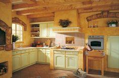 Bucataria rustica, caldura unui camin adevarat. Schmidt Cuisines