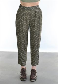 PATTERN LOOSE FIT FESTIVAL TROUSERS