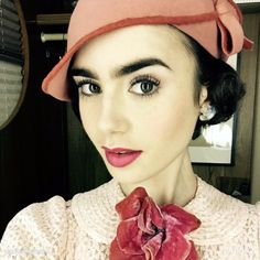 Lily Collins Source - lilyjcollins: It's officially live! I'm so proud and excited to bring you The Last Tycoon and introduce Celia Brady#pleasevote #TheLastTycoon…   GO AND WATCH IT! I'TS AVAILABLE RIGHT NOW