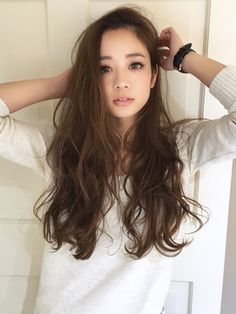 Another hair type Hair Color Asian, Asian Hair, Japanese Hair Color, Japanese Perm, Bad Hair, Hair Day, Permed Hairstyles, Cool Hairstyles, Long Curly Hair