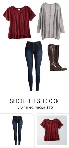 """""""Untitled #83"""" by madelyn-anderson-1 on Polyvore featuring American Eagle Outfitters and Michael Kors"""