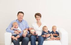 Nothing else they would rather do: LDS couple has twins, triplets under 14 months old | Deseret News