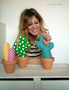 _cactus tela_ DIY