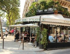 Cafe de Flore/ Saint-Germain-des-Pres, Paris