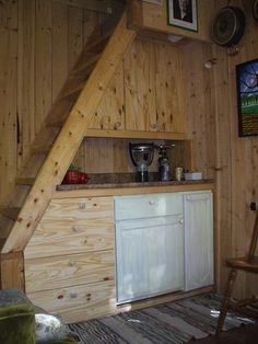 Vlad s tiny house a 12 x 24 ft building with a loft for How to find a home builder in your area
