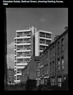 Nice archive of post war London council estates at Ideastore