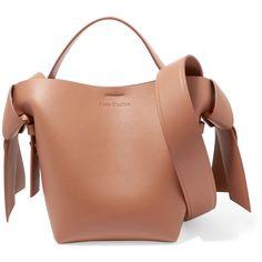 81ec829834b04b Acne Studios Musubi mini knotted leather shoulder bag (£755) ❤ liked on  Polyvore