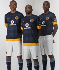 Kaizer Chiefs Nike Away Kit Soccer League, Soccer Teams, Kaizer Chiefs, Football Fashion, Football Kits, Extreme Sports, Sports Shirts, Blues, African