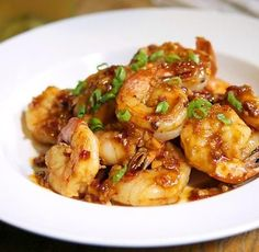 Shrimp With Spicy Garlic Sauce Recipe