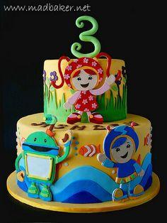 Umi Zoomie Cake Ideas