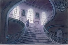 Beauty and the Beast concept art - Disney