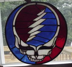 Hey, I found this really awesome Etsy listing at https://www.etsy.com/listing/154748567/steal-your-face-grateful-dead-stained