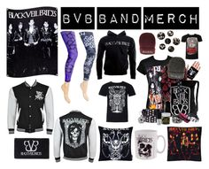 """BVB Band Merch"" by bluebanana ❤ liked on Polyvore"