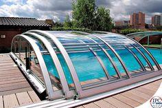 Cobertura de piscina.
