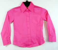 CRUEL GIRL COWGIRL WESTERN SHIRT HOT PINK  COLOR L/S GIRLS XS NWT $19 our prices are WAY BELOW RETAIL! all JEWELRY SHIPS FREE! www.baharanchwesternwear.com baha ranch western wear ebay seller id soloedition