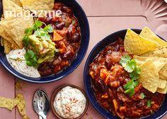 Image: Big bowl veggie chilli