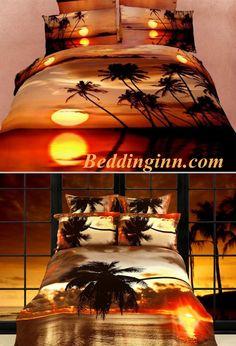 #scenery #beddingset #palm Buy link-->http://goo.gl/UI8LBm Buy link-->http://goo.gl/EbZuxM Live a better life,start with @beddinginn