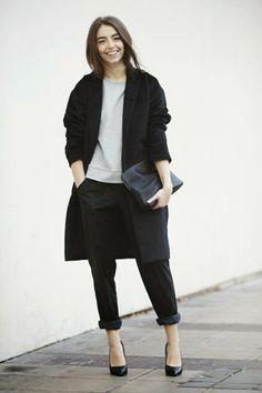 FASHION AND STYLE: Grey & Black