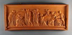 Feines Terracotta Relief um 1860 Thorvaldsen Dänemark Klassizismus Empire | eBay