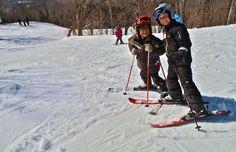 La station Mont Sutton a beau être fréquentée par certains des meilleurs skieurs du Québec, «elle est aussi appréciée par un nombre grandissant de familles», selon Chloé Payen, coordonnatrice aux communications.