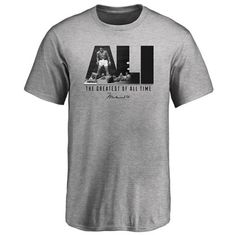 Muhammad Ali Youth Legend T-Shirt - Heather Gray Boxing T Shirts, Muhammad Ali, All About Time, Heather Grey, Youth, Tees, Mens Tops, Gray, Fashion