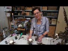 Elisabeth Bønløkke laver en lysmanchet - YouTube