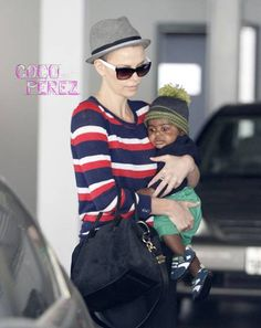 Charlize Theron Shaves It All Off!!