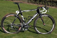 My road race bike.  Cervelo SLC-SL