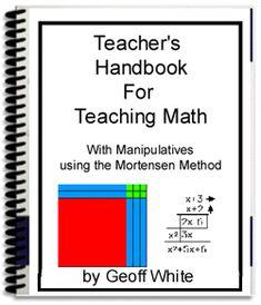Teaching Math with Manipulatives - Using the Mortensen Method