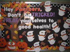 Treat Yourself to Good Health. (Halloween) Image