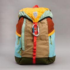 Epperson Mountaineering - Large Climbing Bag: Having a bit of a lust for colour moment whilst researching....SICK!