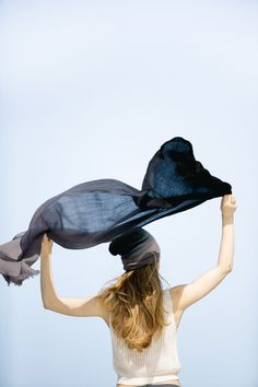 Black Ombré Hand Woven Cashmere Wool Scarf This feather light, hand woven ombré scarf is the perfect addition to your outfit. Fabric Photography, Model Poses Photography, Black Ombre, Woven Scarves, Cashmere Wool, Wool Scarf, Cowboy Hats, Hand Weaving, Feather