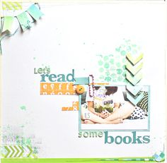 Let's read some books layout