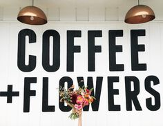 Coffee + flowers are definitely two things that make us smile. What are two things that bring you #flashesofdelight?  of @communalcoffee & @native_poppy flowers by @drcassidy #coffeeandflowers...